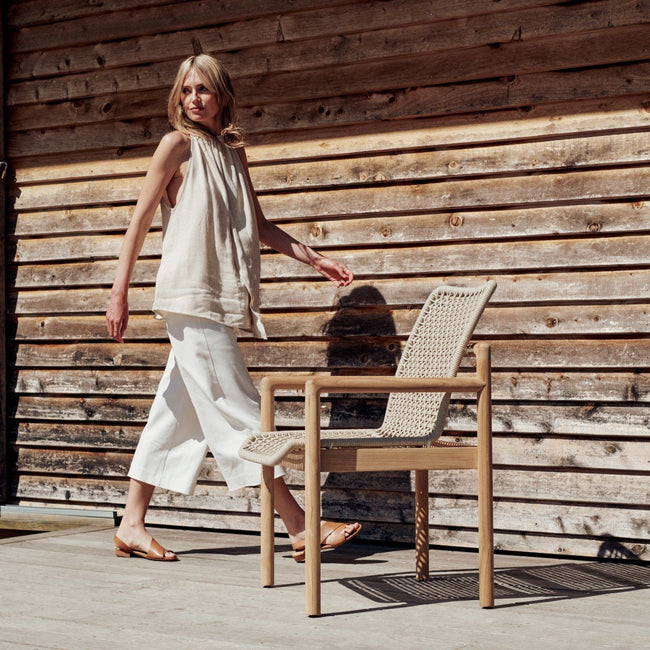Devon Opito Outdoor Carver Chair - Marble