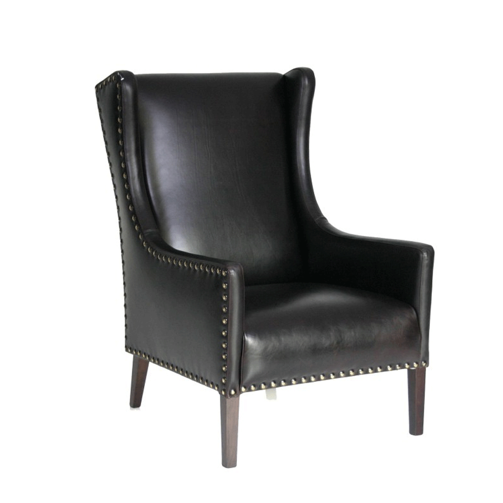 Durham Gents Wingback Armchair - NZ Made