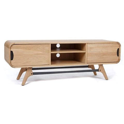 Lapalle Solid Teak Entertainment Unit