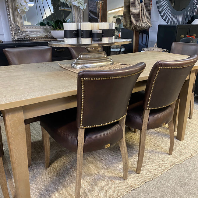 Halo French Pastry Extension Dining Table - 1830/2430mm