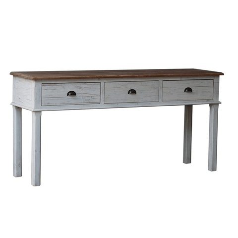Howard Iron + Marble Console Table