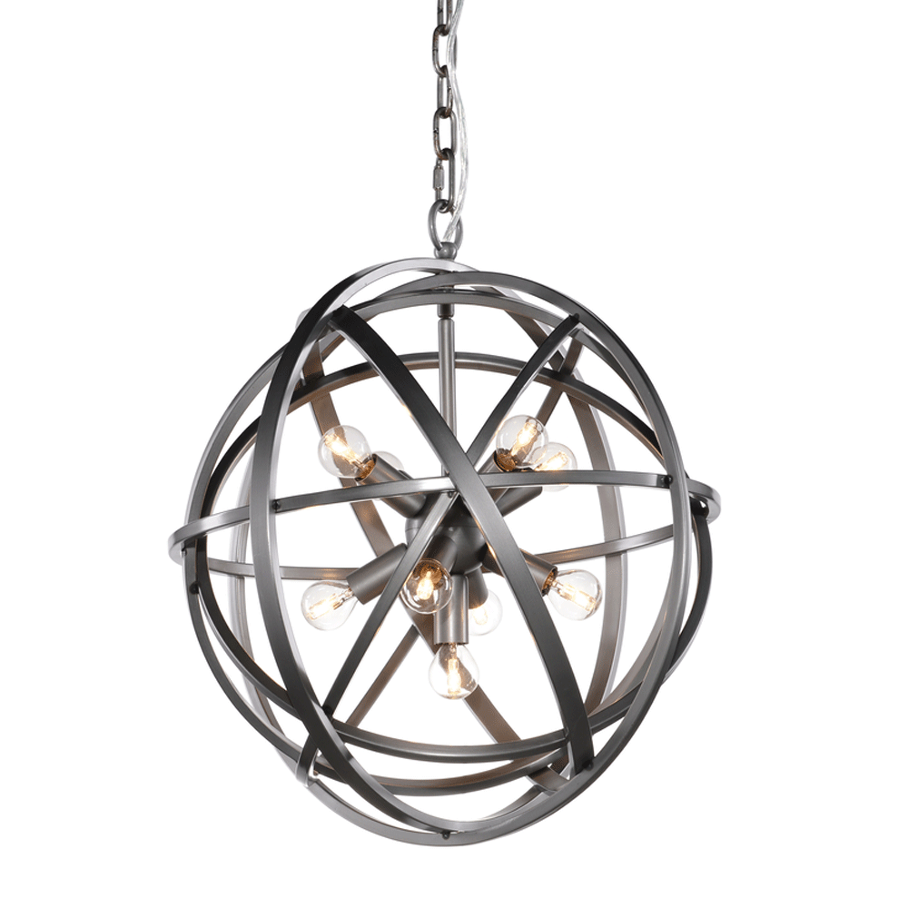Halo Nest Pendant Light in natural finish