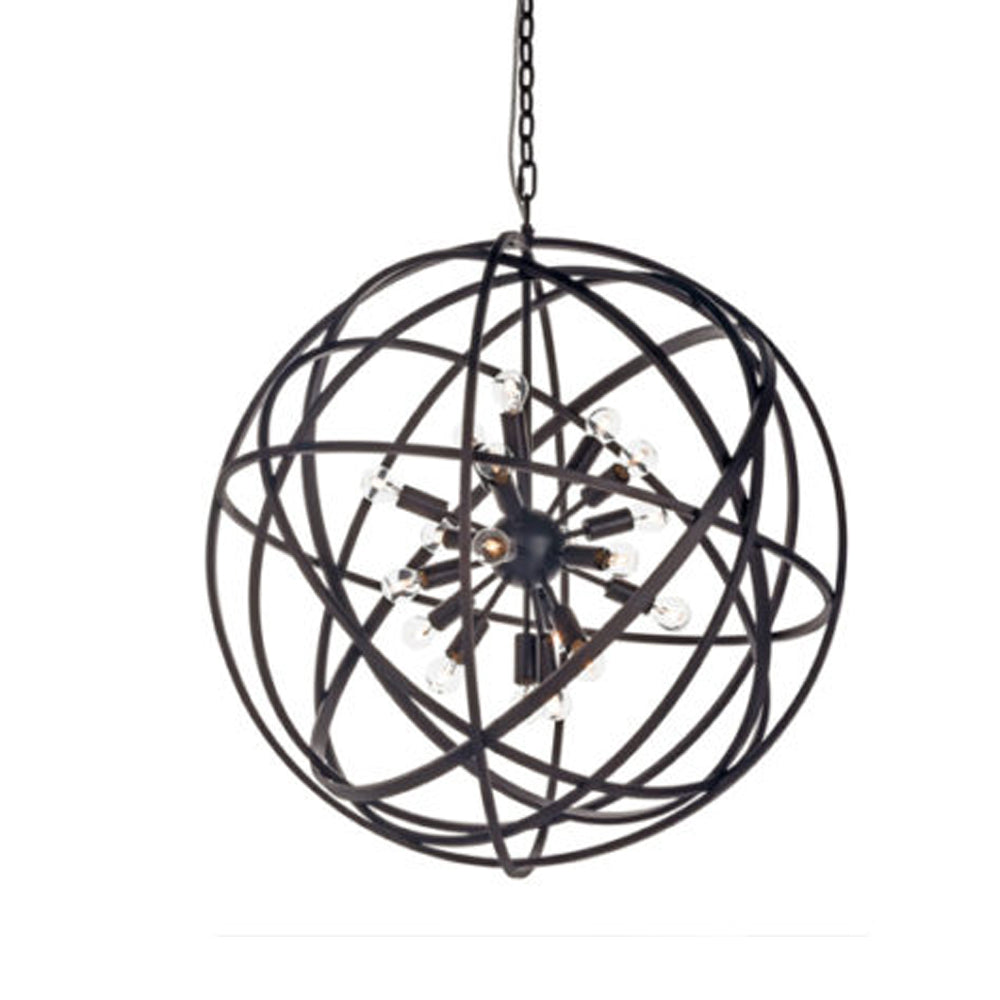 Halo Nest Pendant Light - Medium - Rouille (Coated Rust)