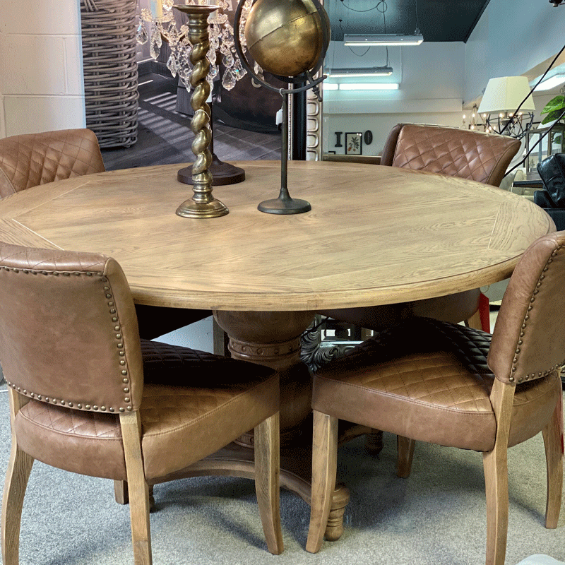Hartley Round Dining Table