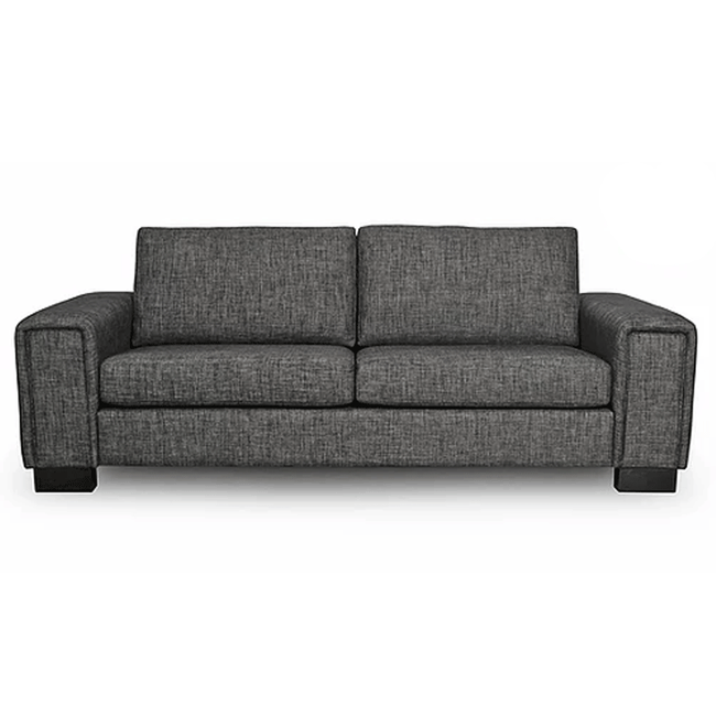 Hudson 3 + 2.5 Seater Lounge Suite in Jake Fabric - NZ Made