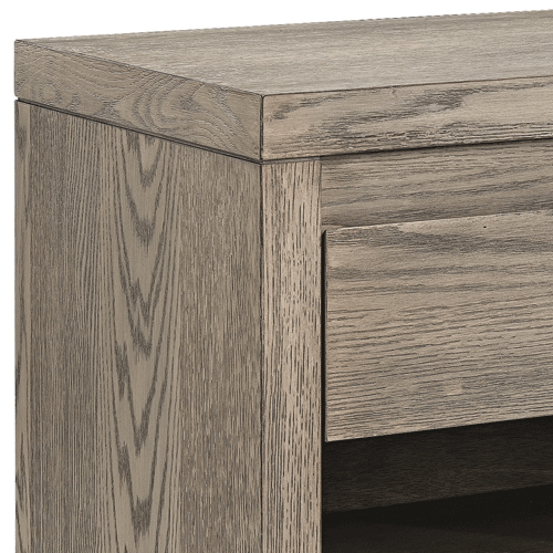 Artwood Hunter Bedside Table - Antique Grey