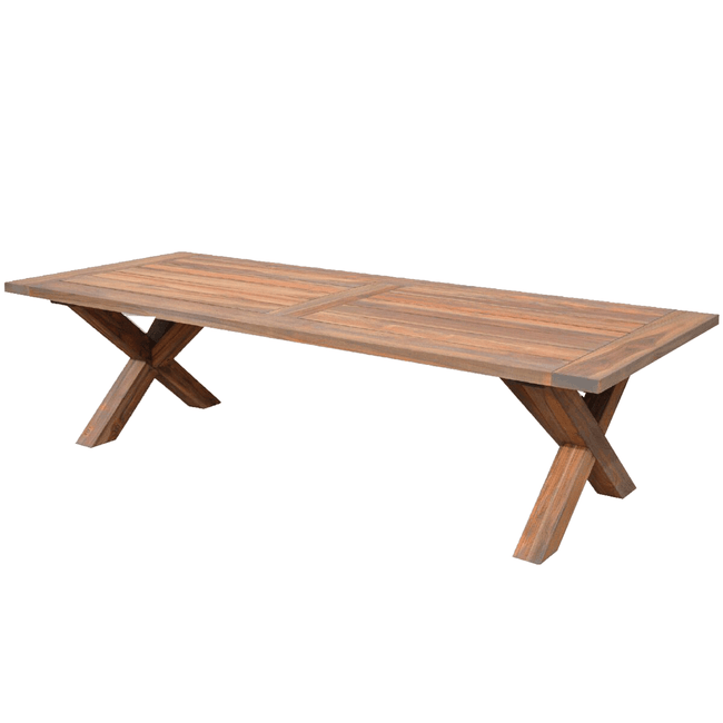 Mallorca Teak Outdoor Dining Table - 2400mm