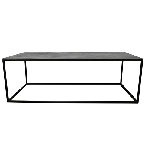 Salvaged Elm Coffee Table - Black