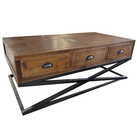 Sumner White Coffee Table