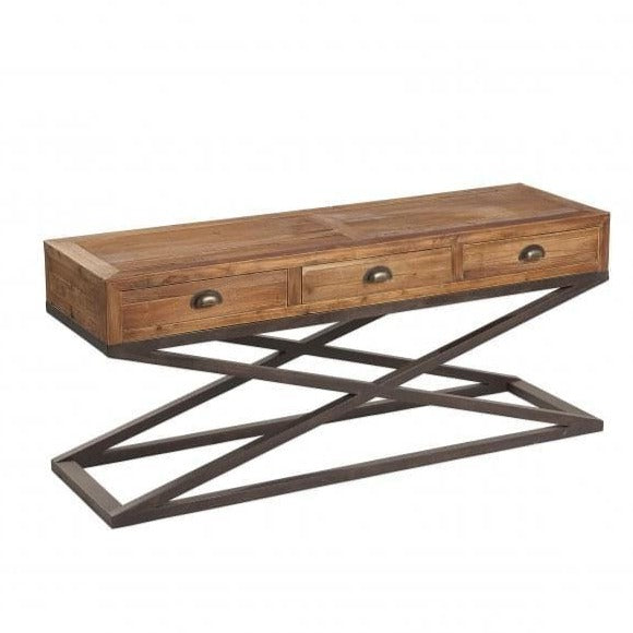 Marseille Low Console Table