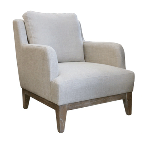 Mayfair Linen Armchair