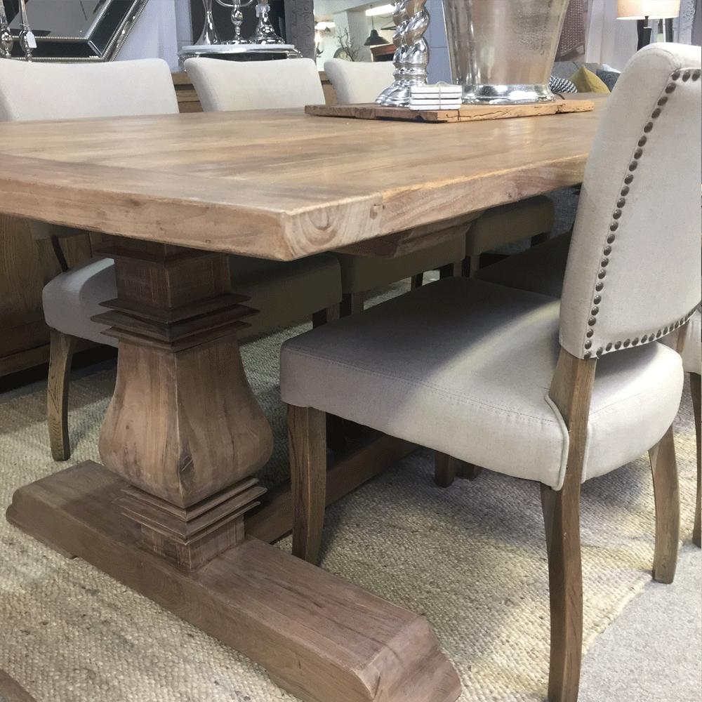 Madrid Elm Dining Table