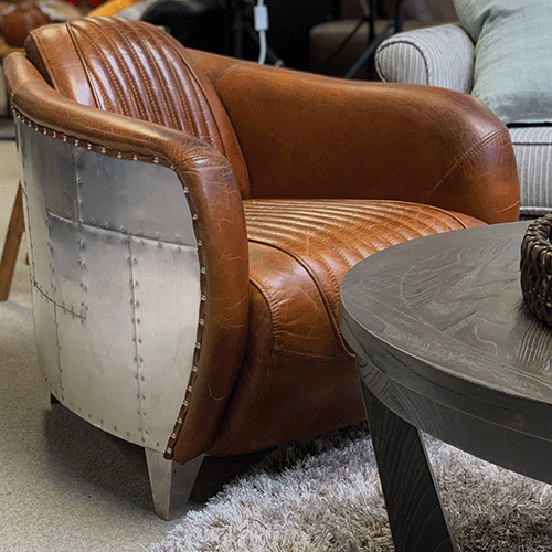 Mustang Leather Armchair