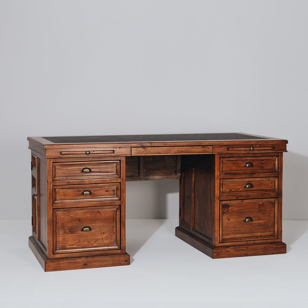 Norfolk 6 Drawer Desk
