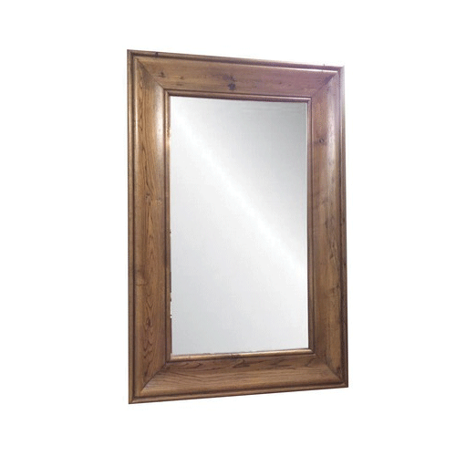 Solid Oak Mirror - Natural