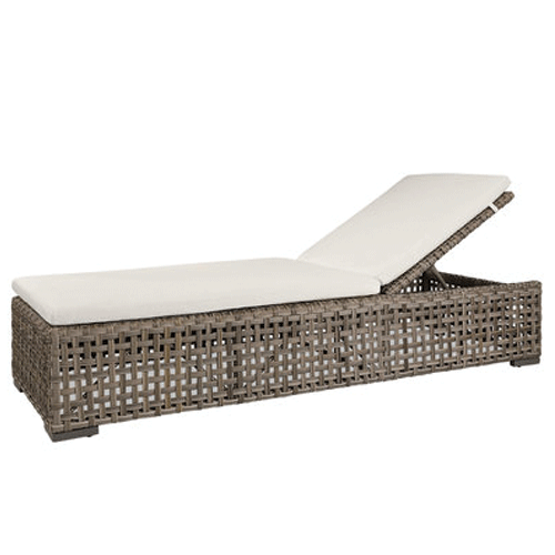 Artwood Orlando Outdoor Lounger - Classic Grey