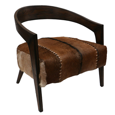 Laurie Sling Club Chair - Charcoal