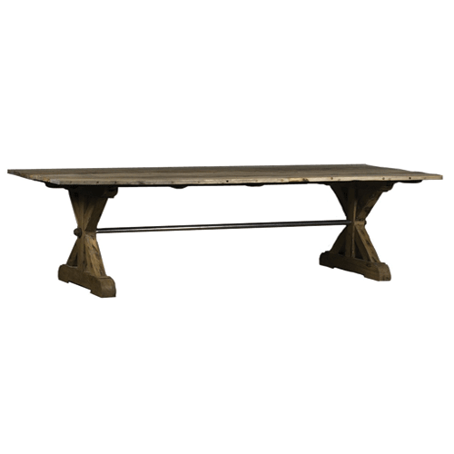 Pallas Reclaimed Dining Table - 2.4m