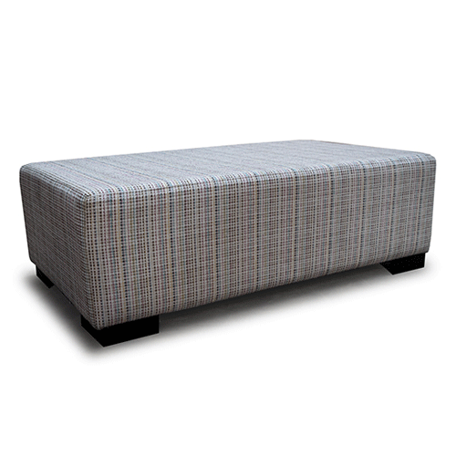 Plain Top Ottoman Footstool - Custom NZ Made - Choose Your Fabric & Size