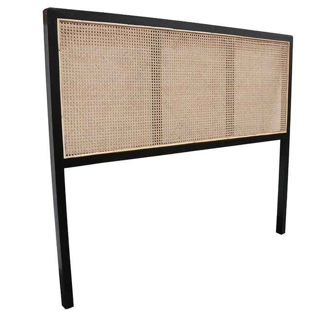 Ulu Teak and Rattan Headboard - Queen