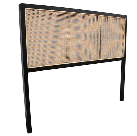 Haydee Woven Leather Headboard - King / Super King- Tan