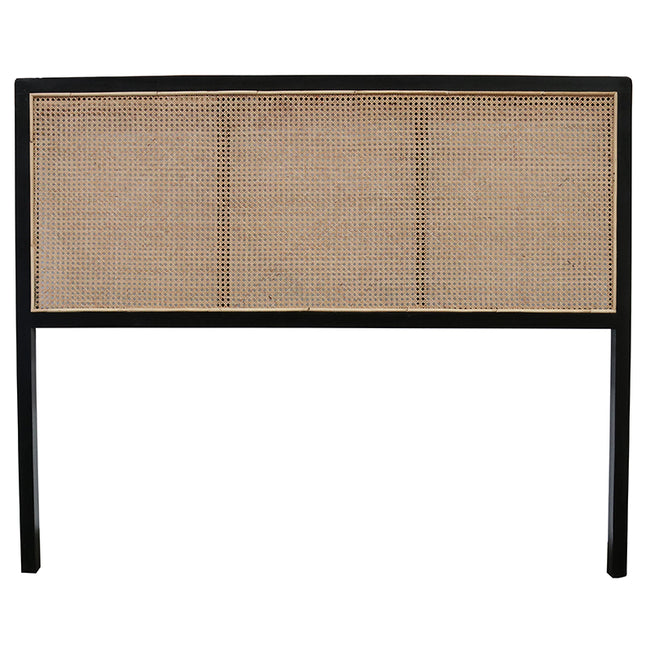 Ulu Teak and Rattan Headboard - Super King