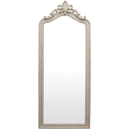 Royale French Grey Full Length Dress Mirror