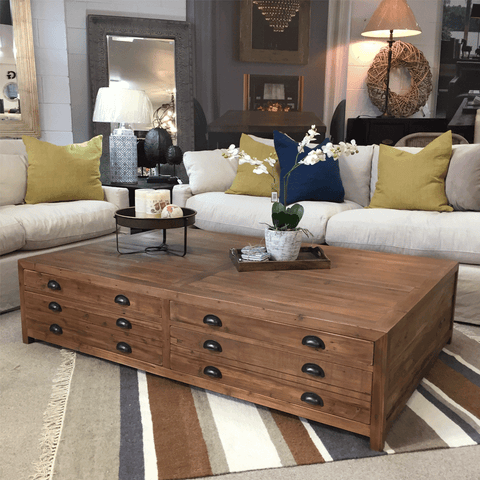 Baxter Barn Sliding Door Coffee Table