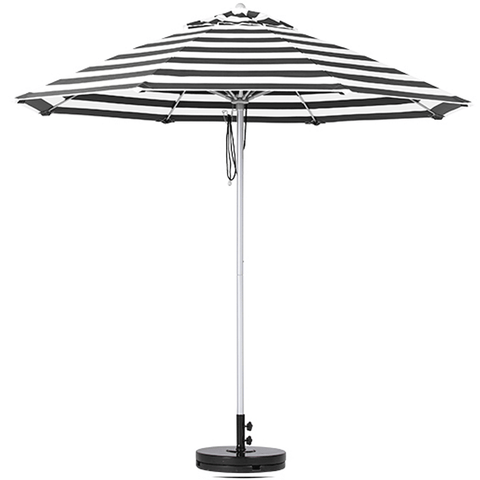 Shelta Fairlight Tilting Outdoor Umbrella - 2.7m Octagonal - Grey