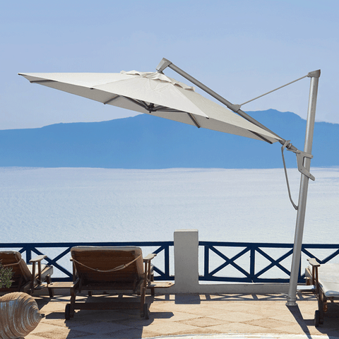 Shade7 Venice Outdoor Umbrella - Linen R126 - 2.2m Square