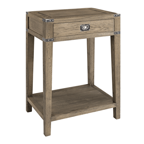 Bailey Natural Oak Bedside Table
