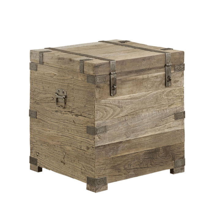 Artwood Elmwood Solid Elm Square Chest
