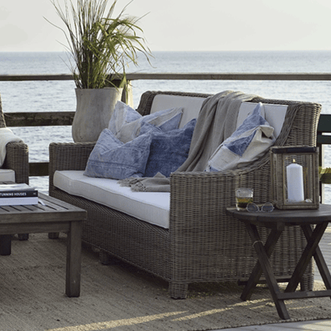 Artwood Rhode Island Outdoor 3 Seater Sofa