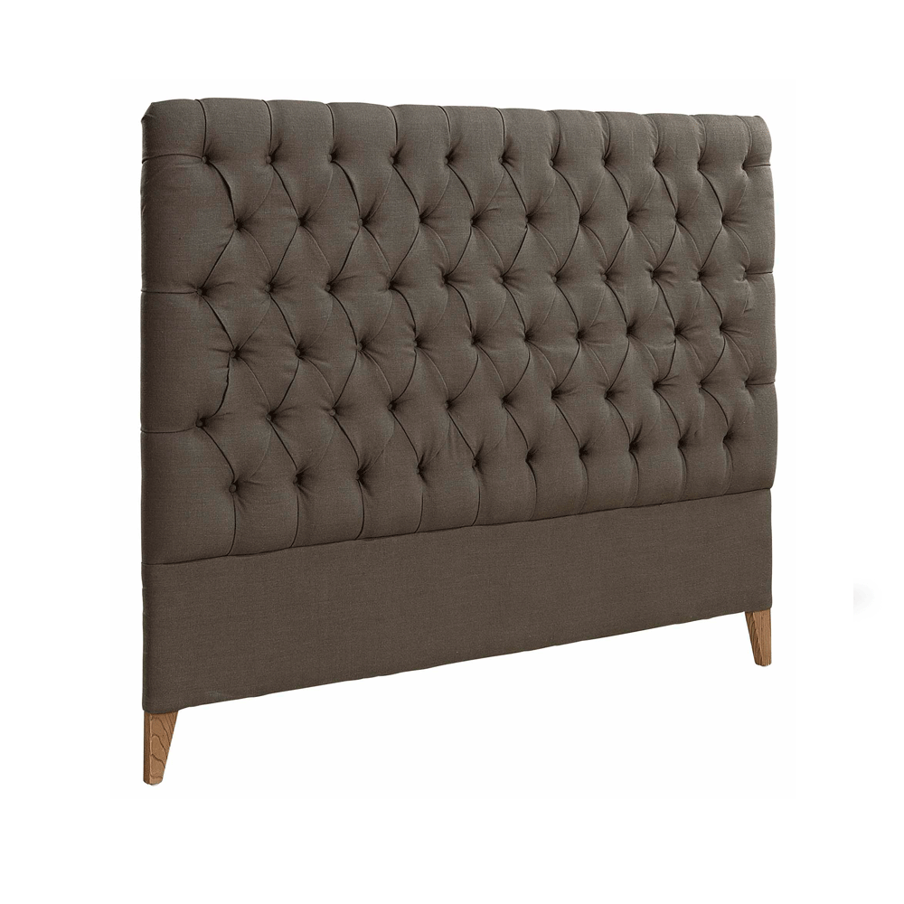 Artwood London King Linen Headboard - Brown