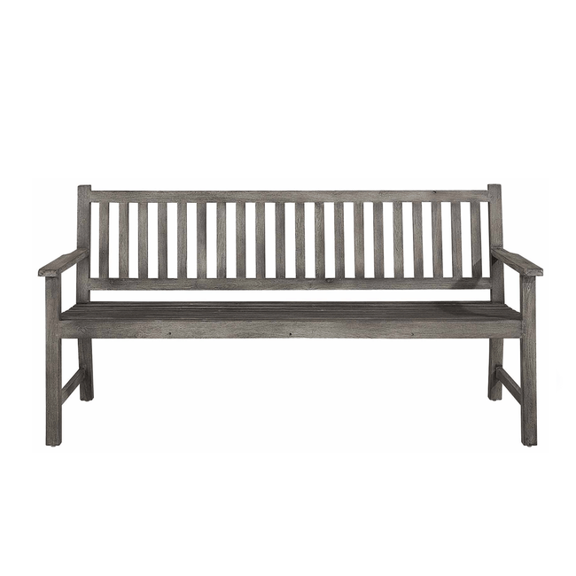 artwood oxford outdoor park bench
