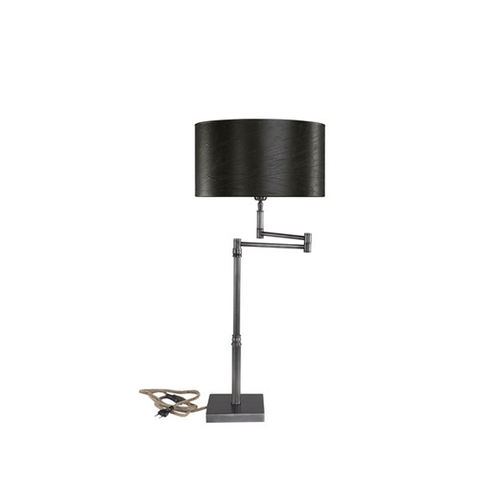 Artwood Pewter Swing Table Lamp