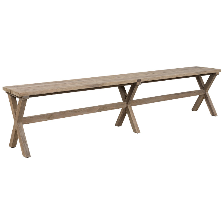 Artwood Cross Outdoor Bench Seat