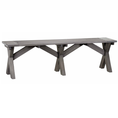 Costa Outdoor Dining Setting - Dining Table and 2 Bench Seats