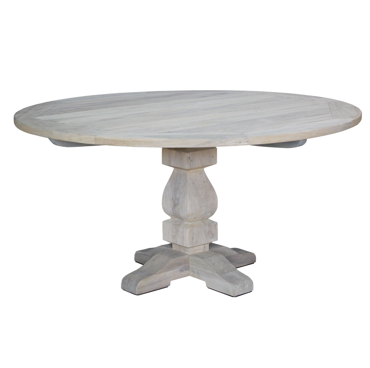 French Outdoor Round Dining Table 1500 Greenslades Furniture