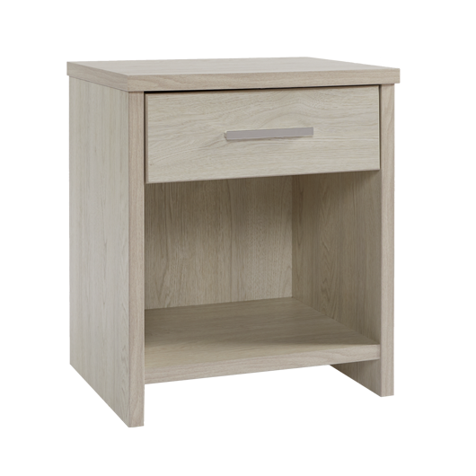 Atlas 1 Drawer Bedside Table