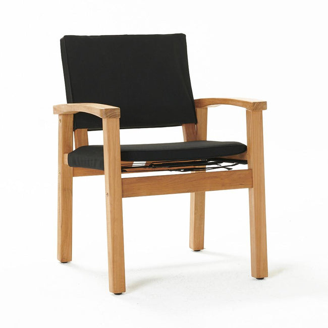 Devon Barker Outdoor Chair - Black