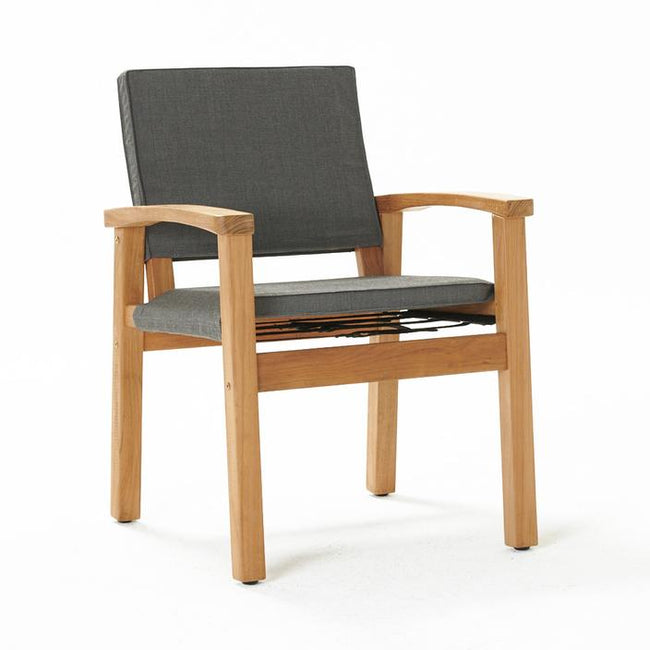 Devon Barker Outdoor Chair - Steel