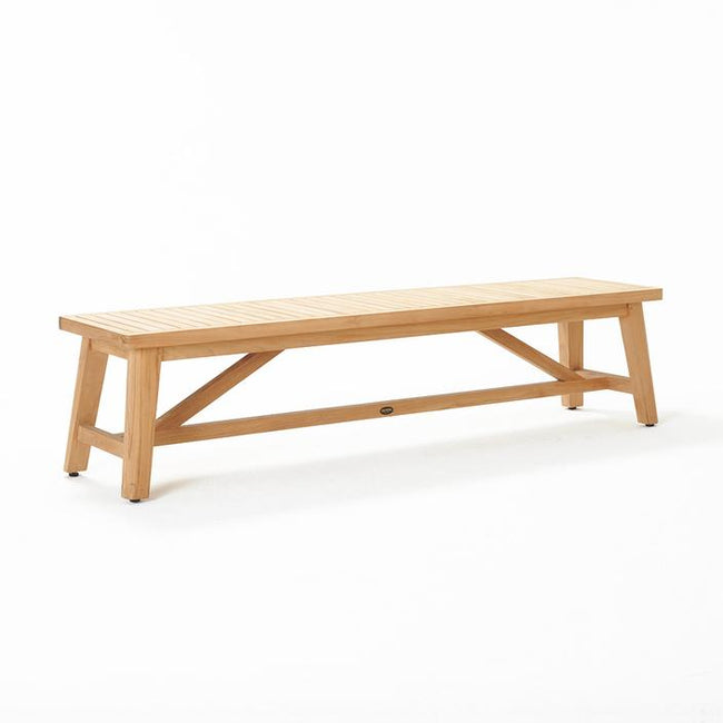 Devon Cheviot Teak Outdoor Bench Seat - 1970