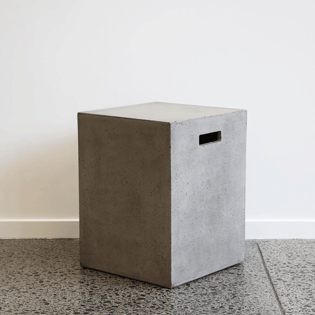 Concrete Side Table / Stool