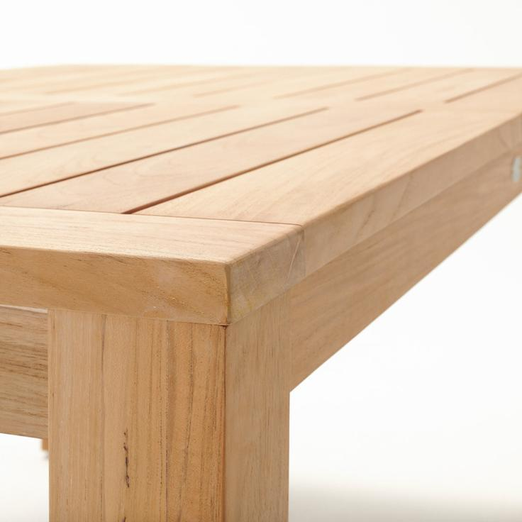 Devon Couper Teak Outdoor Dining Table