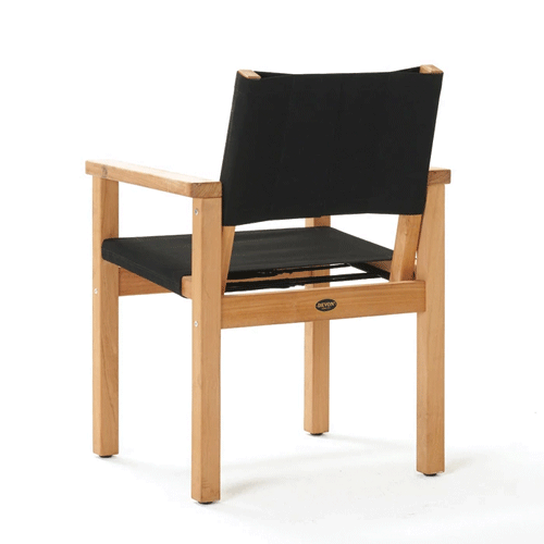 Devon Blake Outdoor Chair - Black