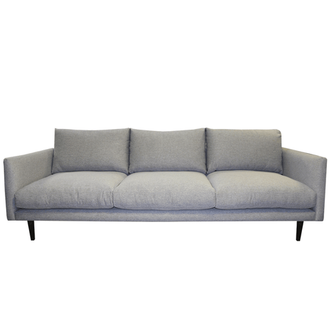 Chaumont Button Linen & Oak Sofa