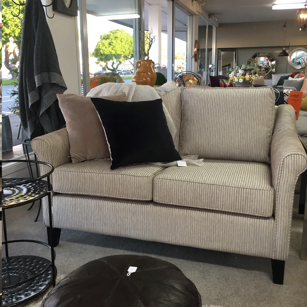 Flora 2.5 + 2 + Armchair Lounge Suite - NZ Made