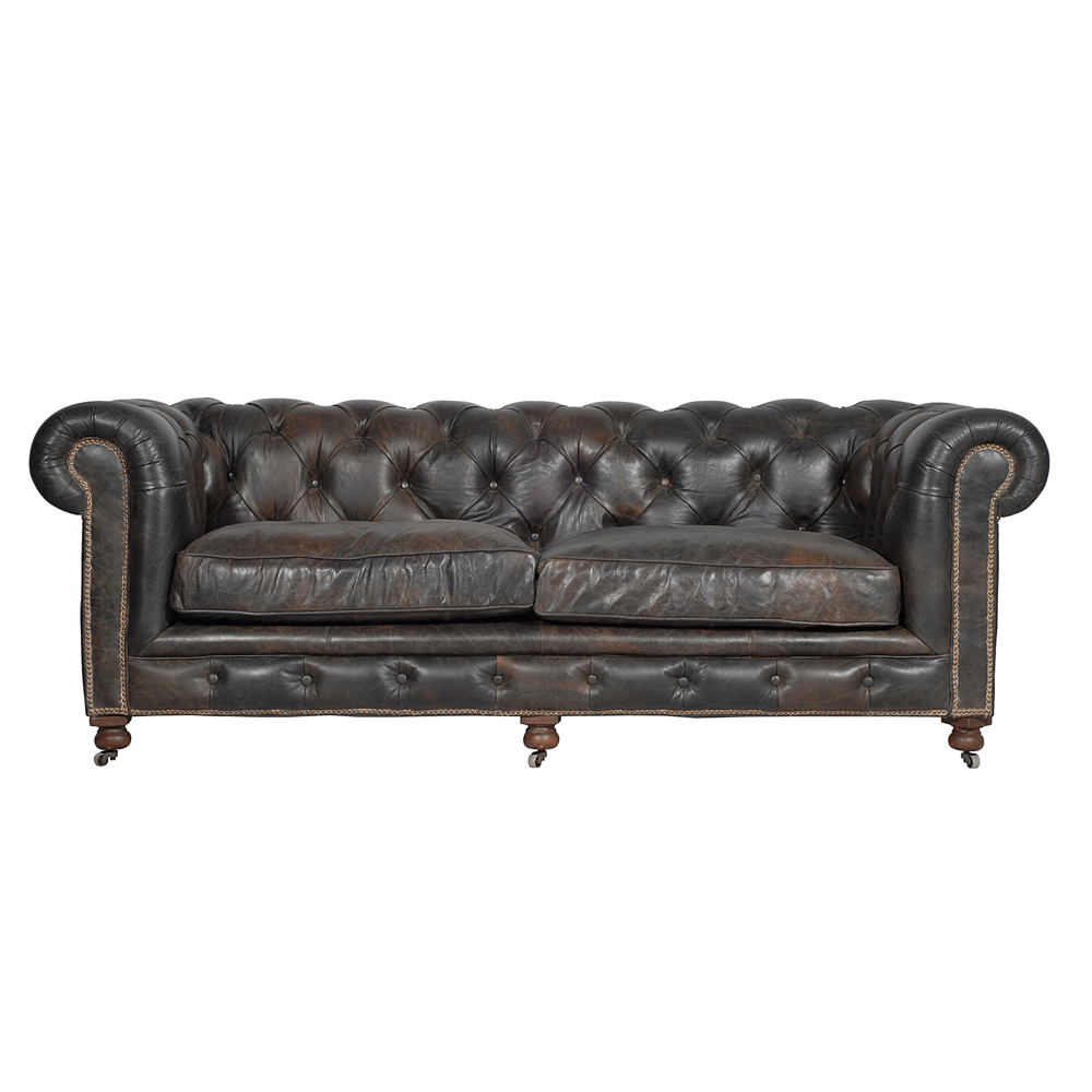 halo kensington 2 seater sofa old glove espresso