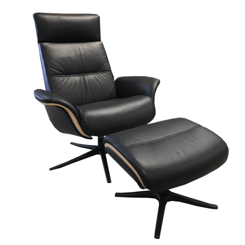 IMG Volda 37S Recliner Chair and Footstool - LAST ONE!